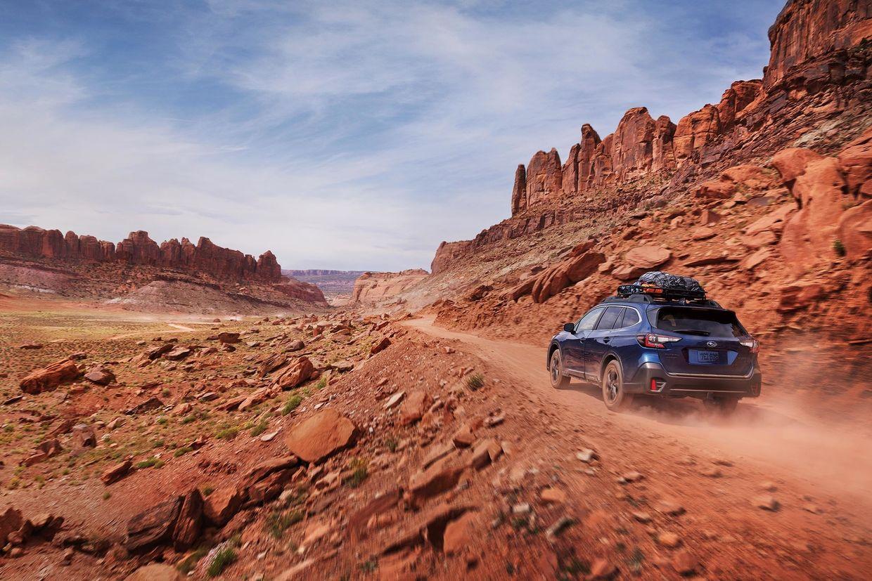 JEFF LUDES shoots Subaru Outback