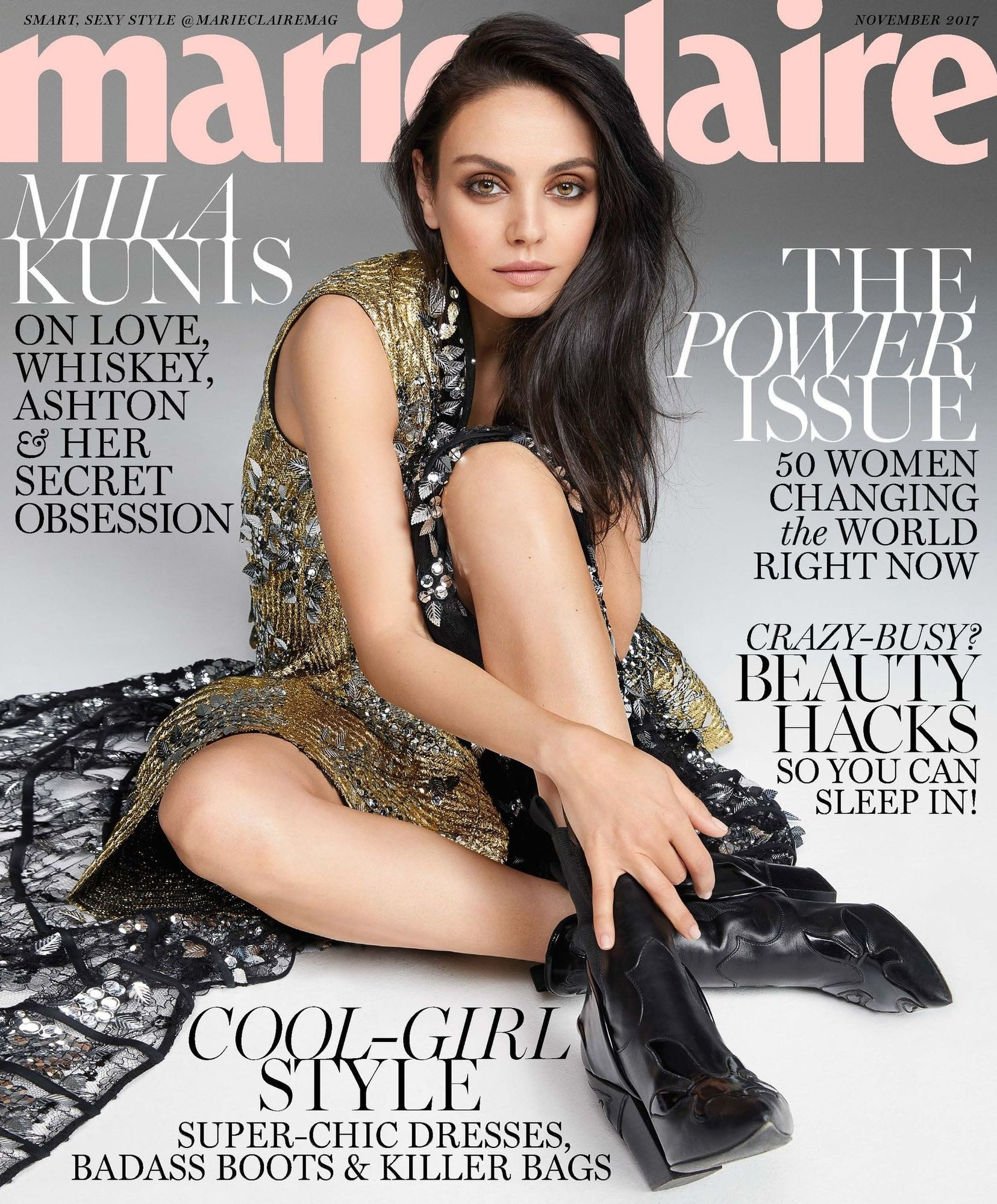 Marie Claire US Nov Cover