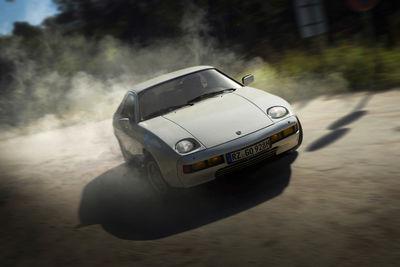 Porsche 928, Drift