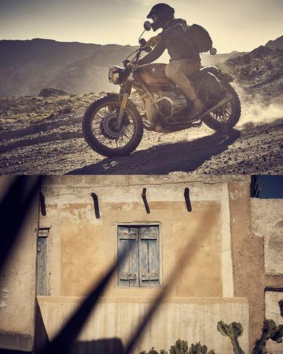 "ROCKENFELLER & GöBELS: ""El Gringo"" FOR FUEL MOTORCYCLES BY STUART HAMILTON"
