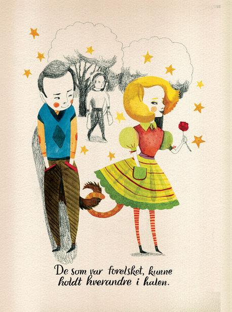 """Daria Rychkova für ein norwegisches Kinderbuch namens """"Halens Historie"""""""