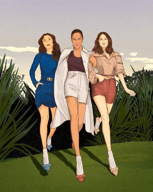 ISABEL SCHARENBERG CREATIVE MANAGEMENT: Lily QIAN for SALVATORE FERRAGAMO's new Viva flat collection