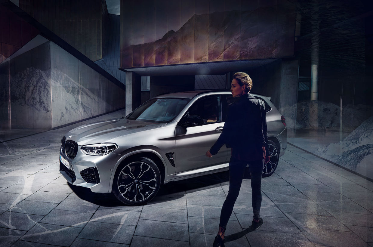 "SEVERIN WENDELER: ""BMW X3 M"" Photography by Anton Watts c/o Severin Wendeler"