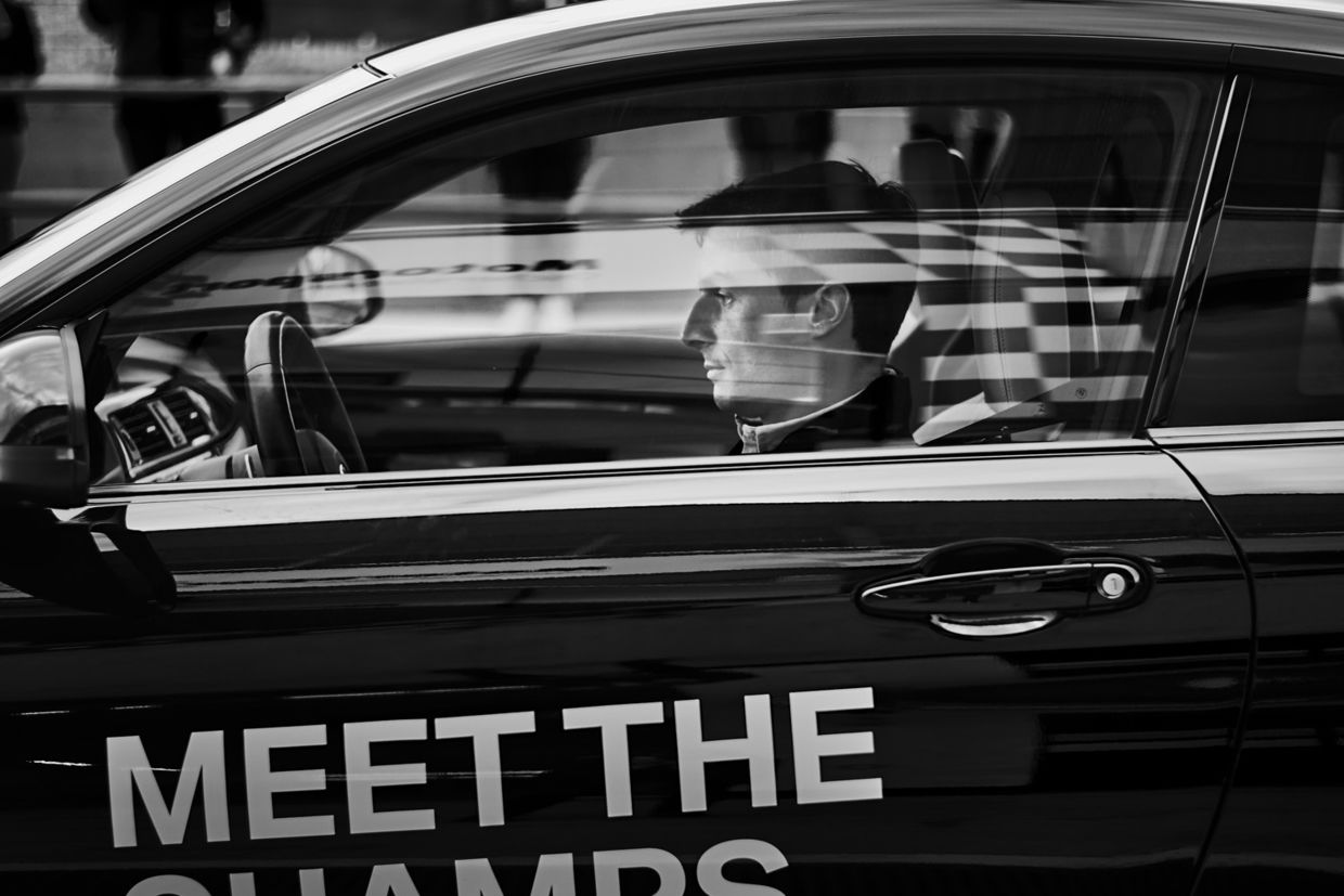 ROCKENFELLER & GöBELS: BMW DRIVING EXPERIENCE BY MICHAEL HAEGELE