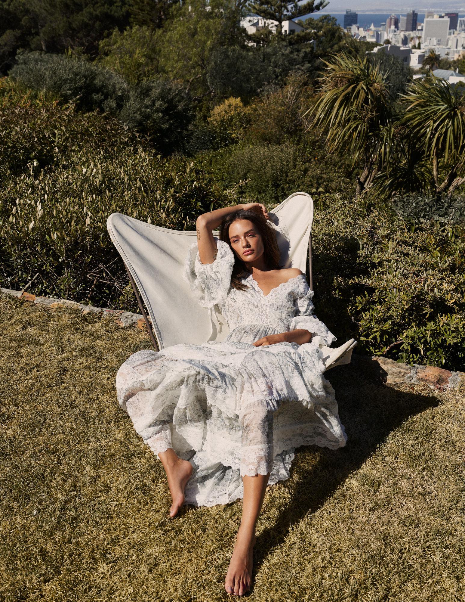 Jessica Lee Buchanan for Harper's Bazaar