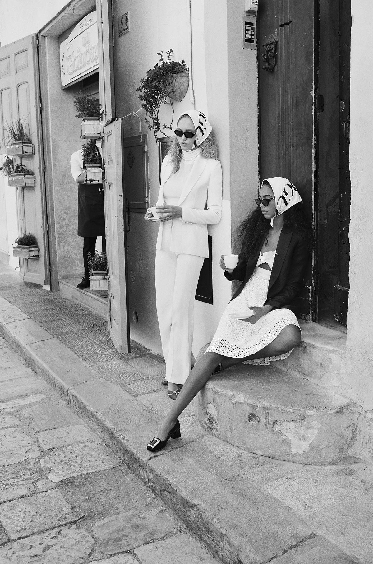 Nour Lwasi & Kimberly van der Laan shot by Alex Waltl