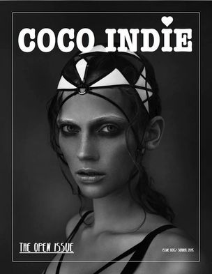 MUNICH MODELS : Carolin SÜNDERHAUF for COCO INDIE MAGAZINE