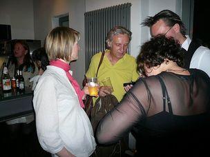FFF-WELLWORK : Natalie Marx, Mike Krebs (Cineteam), Deborah Hanusa (Y&R), Ralph Thamm