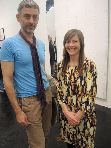 ART COLOGNE 2014 : Cyrus C Halabian (GoSee) & Franziska von Hasselbach (Sprüth Magers)
