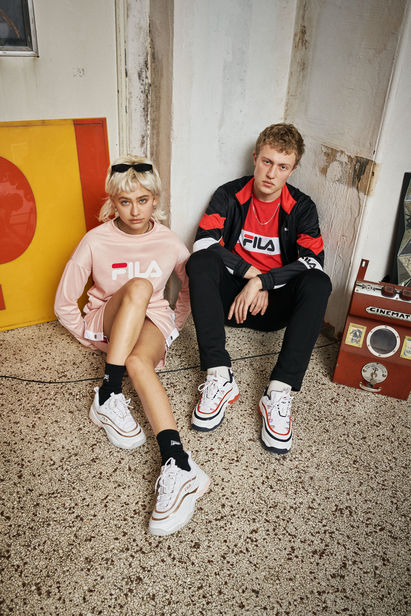 The lastest FILA SS19 Campaign shot by Sophie Hemels c/o TAKE Agency