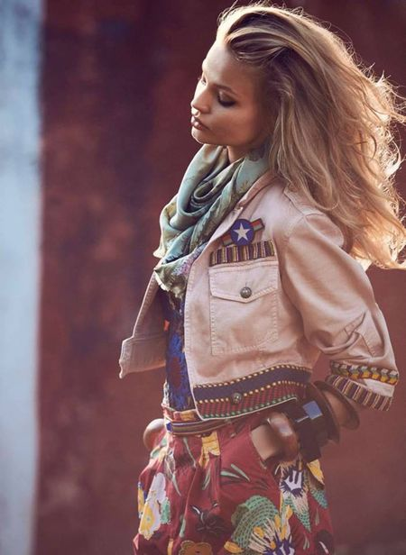 MUNICH MODELS: Magdalena Frackowiak for ELLE France