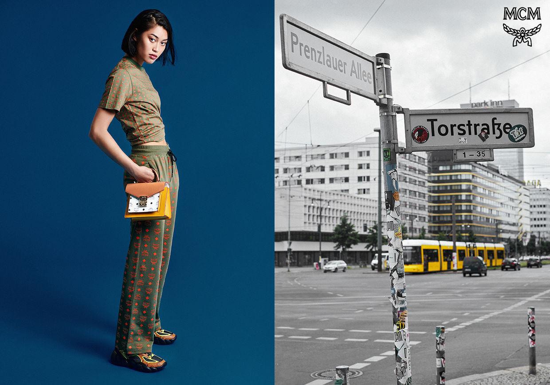 TOBIAS WIRTH C/O TOBIAS BOSCH FOTOMANAGEMENT FOTOGRAFIERT MCM ADVERTORIAL FÜR YOHO!GIRL CHINA