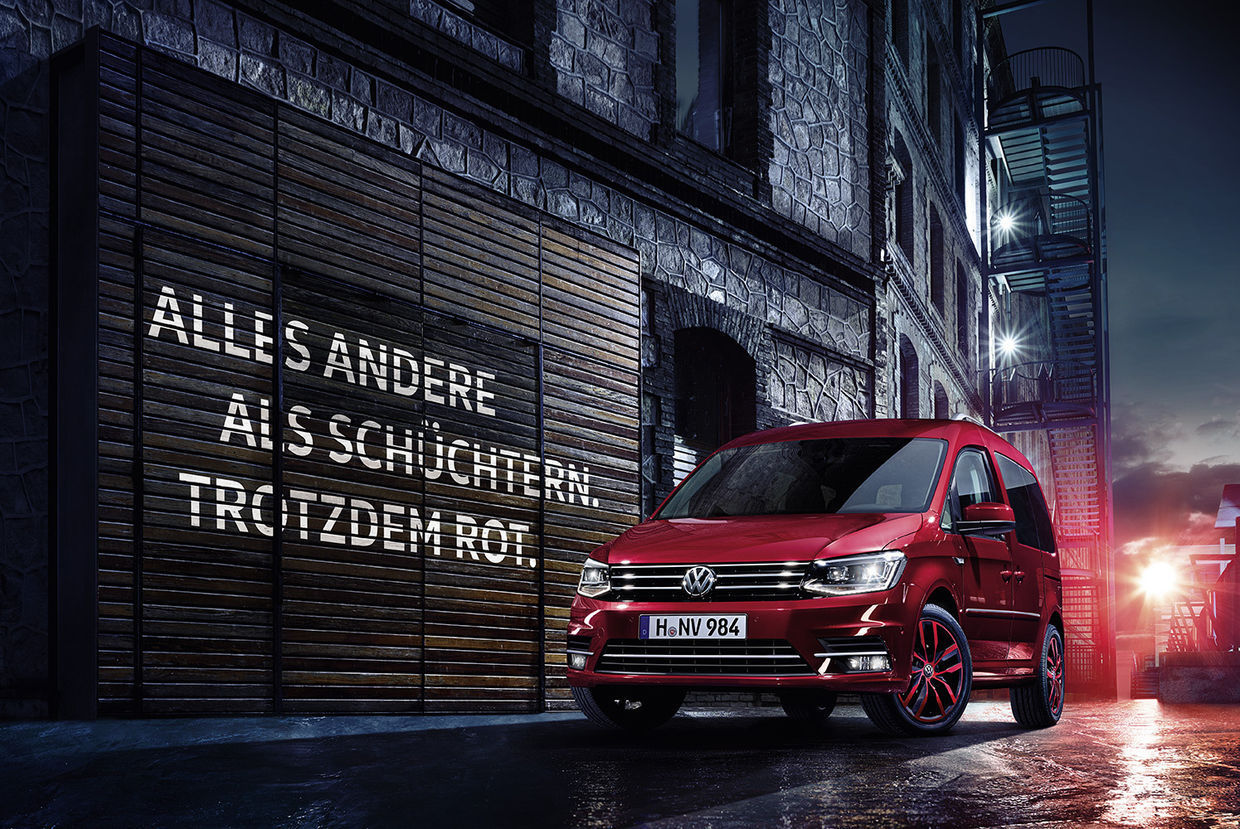 VW Caddy Launch Campaign