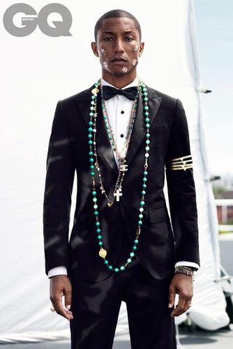 Pharrell Williams for GQ UK by HUNTER & GATTI