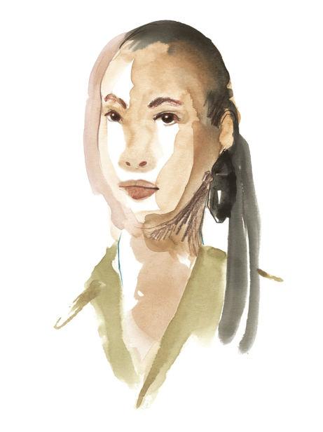 COSMOPOLA Illustration Artist - Francesco Lo Iacono - OFF WHITE