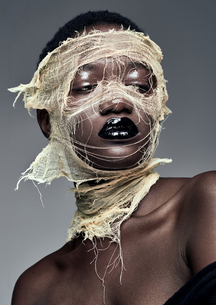 Creative beauty photography by Quentin Décaillet