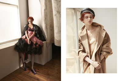 'The Young Revolution' CAMILLA ÅKRANS c/o LUNDLUND for VOGUE JAPAN