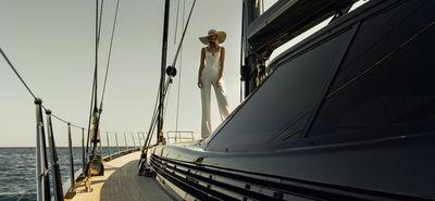"""The dream is always the same. I´m on a boat. And it´s black"" by J. Konrad Schmidt /  STEPHANIE WENCEK POSTDESIGN"