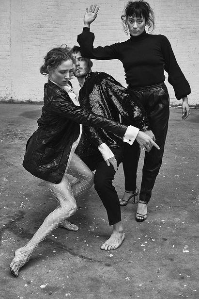 Charlie de Keersmaecker c/o UNIT C.M.A shot the beautiful Nederlands Dans Theater dancers