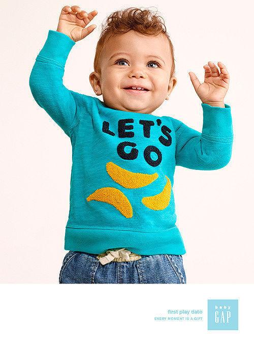 SARAH LAIRD + GOOD COMPANY: Stefano AZARIO for Baby GAP