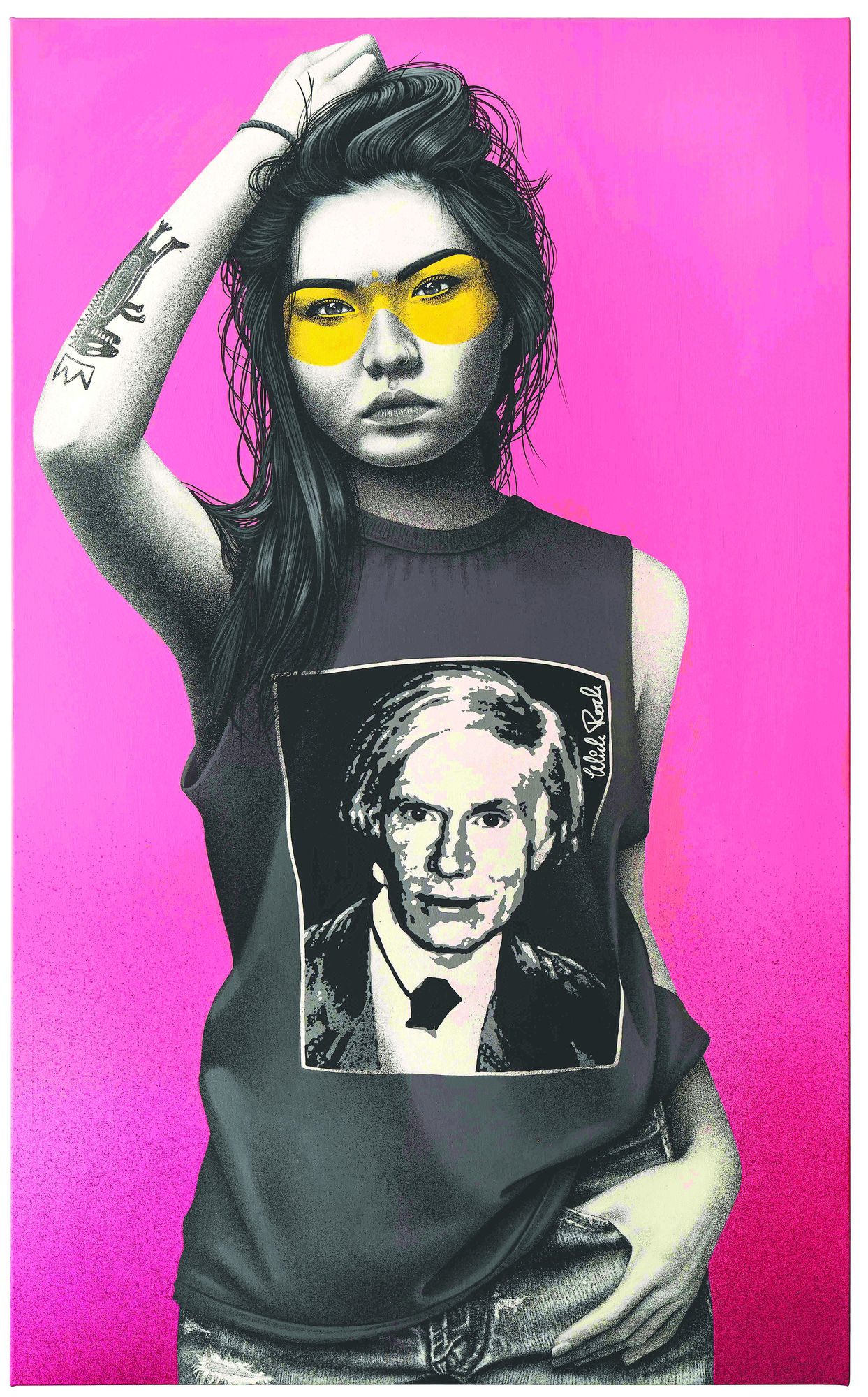 Mick Rock and Fin DAC Present Midaro at West-Contemporary-Editions