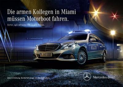 Mercedes-Benz E-Class Police Campaign