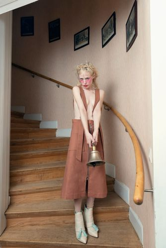 French singer Petite Meller is photographed by Elisabeth Toll c/o LUNDLUND for Bon Magazine