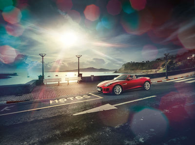 RECOM : Jaguar F-Type for GQ