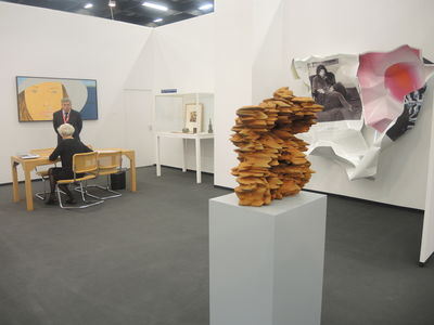 ART COLOGNE 2014 : Galerie Klüser, Munich