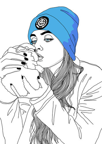 Doodle-Bild