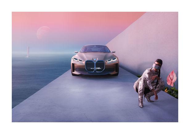 RECOM CGI : BMW i4 - Concept Car - Micro Campaign