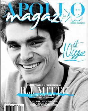 RJ Mitte for Apollo