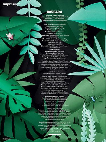 BARBARA magazine - Set Design