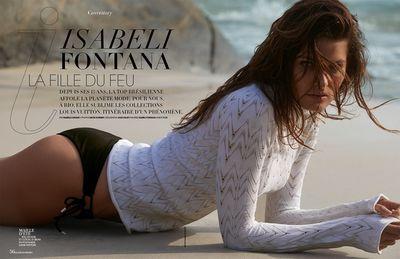 Isabeli Fontana for Madame Figaro shot by David Roemer