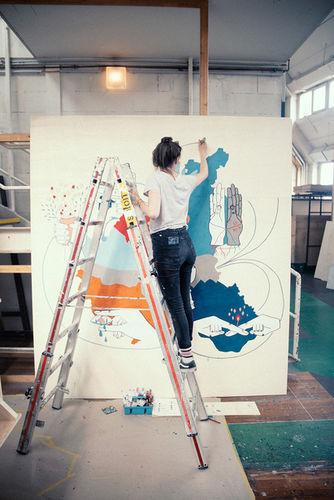 WILDFOX RUNNING: Melanie Gandyra for Schauspielhaus Hamburg