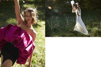 Camilla Akrans for VOGUE China