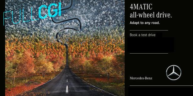 """RECOM CGI : Mercedes-Benz 4matic """"Inception"""" Campaign - FULL-CGI"""