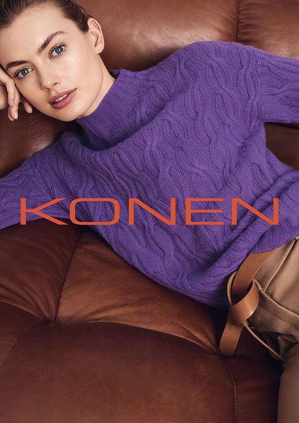 NINA KLEIN, Hair & Make Up: Benjamin Becher, Photography: Marcus Gaab für KONEN