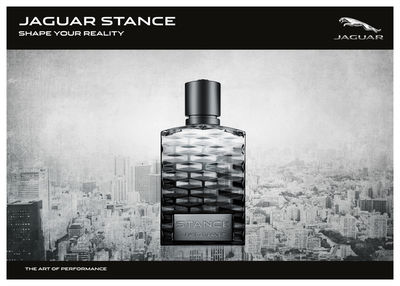 STEPHANIE WENCEK POSTDESIGN for STANCE JAGUAR Fragrances
