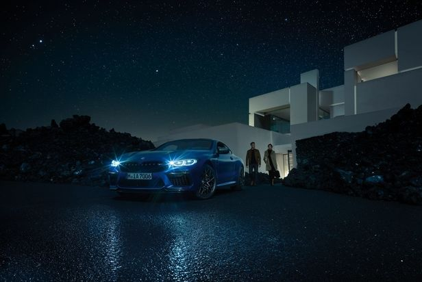 LIGANORD ARTIST HENDRIK SCHAULIN / STYLING FOR BMW M8 CAMPAIGN