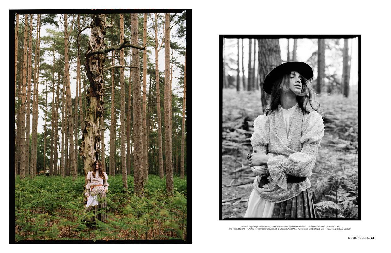 ROCKENFELLER & GöBELS: LOST IN THE WOODS - DESIGN SCENE EDITORIAL BY BENJAMIN KAUFMANN