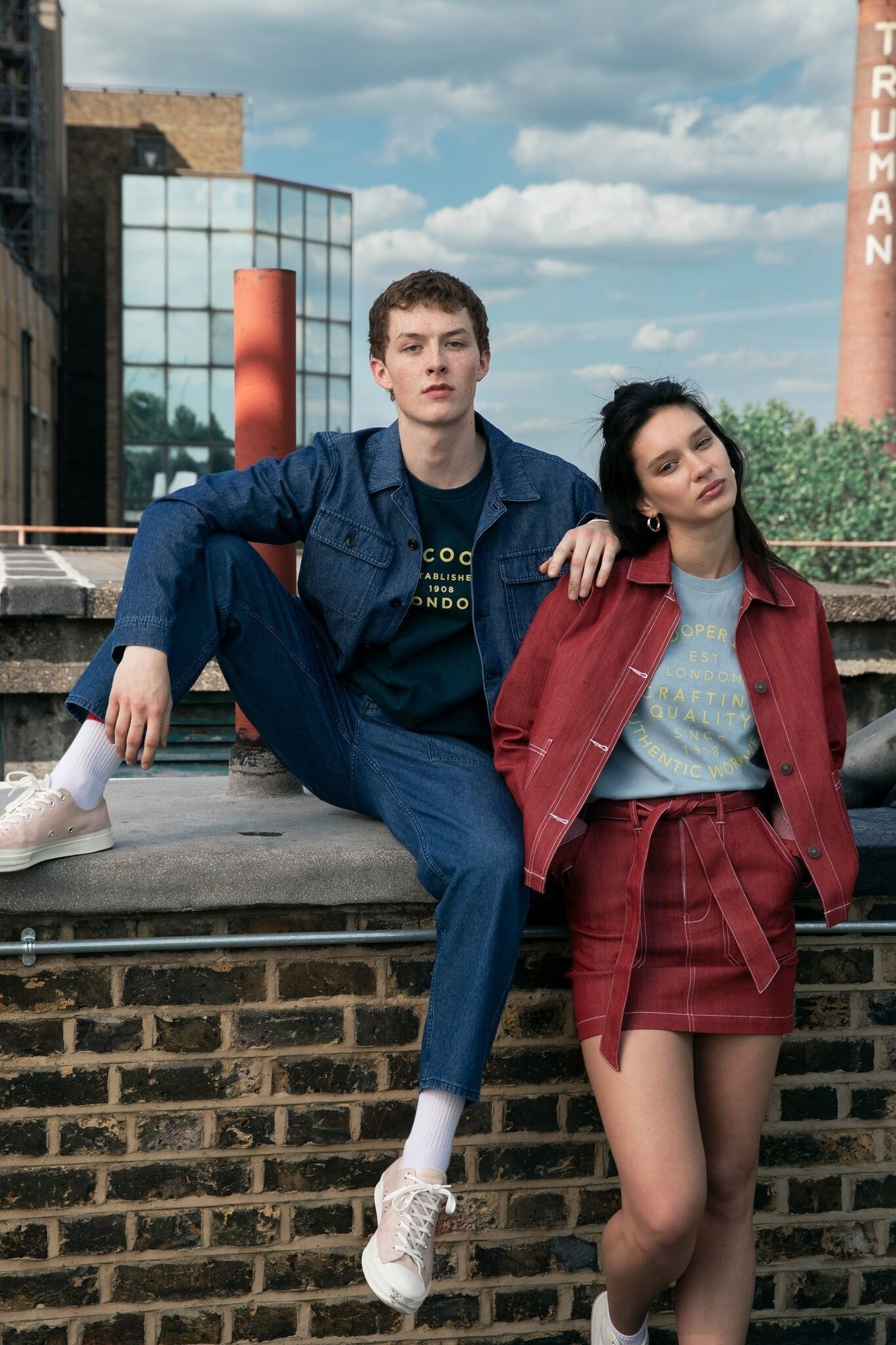 'True London Blues' - Lee Cooper's AW19 campaign by Bexy Cameron c/o The Graft