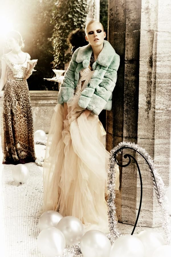 "ESTHER HAASE for VANITY FAIR ITALY ""CELEBRATE"""