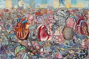 ERRÓ - Portrait & Landscape, Schirn Kunsthalle, Frankfurt (6 October 2011 – 8. January 2012)