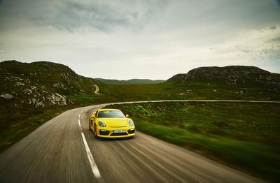 Porsche Cayman GT4 Scotland