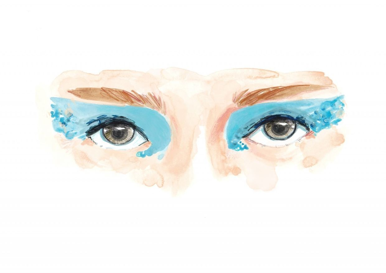 COSMOPOLA Illustration Artist - Francesco Lo Iacono - Blue Eyes