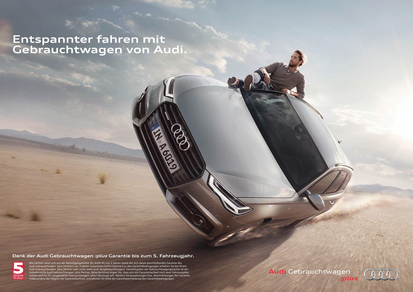 PRODUCTION WORLD (Casting Coordination) for AUDI 'EASY RIDER'