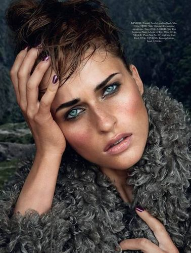 MUNICH MODELS GMBH: Regitze Christensen for ELLE Denmark