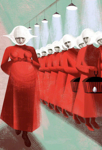 ©2012 Anna+Elena=Balbusso Twins Pregnant The Handmaid's Tale by Margaret Atwood