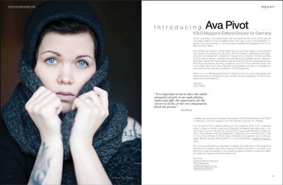 AVA PIVOT for VOLO MAGAZINE